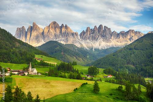 Zdjęcia na płótnie, fototapety na wymiar, obrazy na ścianę : Dolomites alps, Mountain - Val di Funes