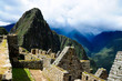 Machu Picchu, Peruvian travel destination, Cuzco, Peru. World Heritage site. New seven wonder of the world.