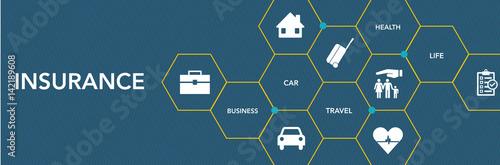 Insurance Icon Concept