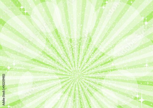 グリーン キラキラ 光 背景