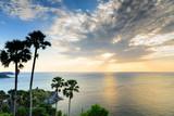 Breathtaking sunset at the Phromthep cape, Phuket Province, Thailand