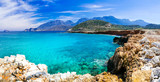 Crystal turquoise beaches of Greece - Crete island