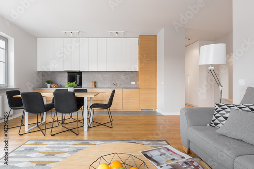 Open space kitchen Poster