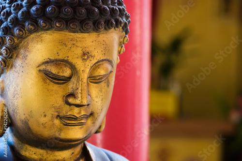 Poster Chinese Buddha Statue
