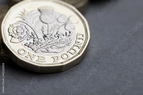 New British one pound sterling coin