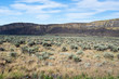 Coulee wall in the desert of Eastern Washington state, USA