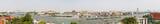 Fototapeta Bangkok, large panorama view. Chao Phraya river. Thailand.