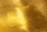 Fototapety Shiny yellow leaf gold foil texture