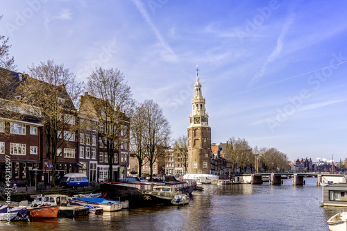 Poster Montelbaanstoren, Amsterdam