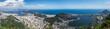 Quadro Sicht auf die Stadt Rio de Janeiro, Brasilien, mit Blick auf Zuckerhut, Copacabana, Ipanema, ...
