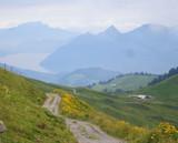 Switzerland - Swiss Alps hiking trail