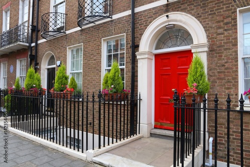 Fotobehang Londen London residential architecture