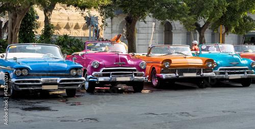In de dag Havana Kuba - Havanna - rund ums Kapitol