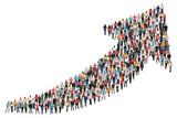 Menschen Gruppe Leute Menschengruppe Erfolg Wirtschaft Wachstum erfolgreich Business - 142392226