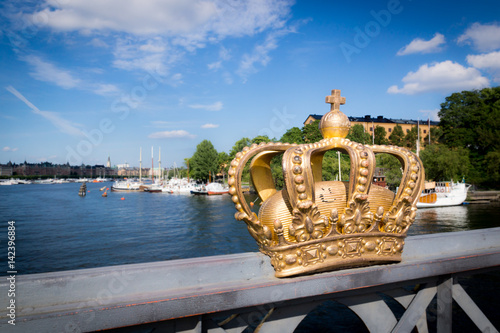Poster Krone in Schweden
