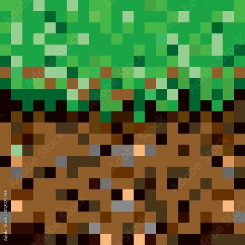 texture in minecraft style
