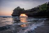 Sunset at Pura Batu Bolong, Tanah Lot, Bali, Indonesia.