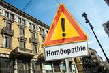 Schild 220 - Homöopathie