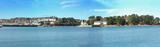 Panoramique sur l'île Tristan et Tréboul, , Douarnenez, Finistère, Bretagne, France