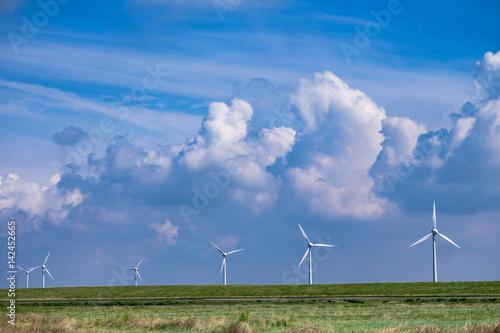 Foto op Plexiglas Noordzee Windräder