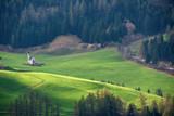 Funes valley, Dolomites mountain