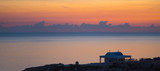 Cape Greco panoramic view at sunrise