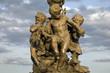 Figure on Pont Alexandre III Bridge, Paris, France, Europe