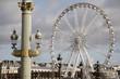 Ferris Wheel in Place de la Concorde Square, Paris; France