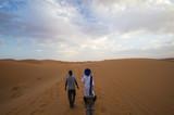 Walk in desert