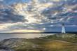 Lighthouse in Louisburg, Nova Scotia