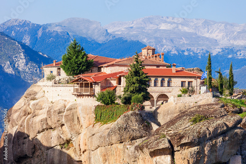 Poster Meteora Monasteries Complex, Greece