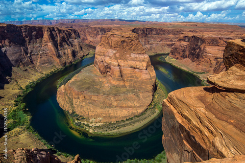 Horseshoe Bend on Colorado River Poster