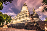 October 08, 2014: Stupa of the Wat Phnom temple in Phnom Penh, Cambodia