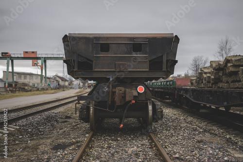Poster Railway platform