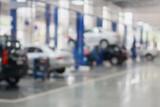 Fototapety auto repair service station