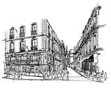 Paris latin quarter