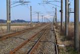 羽越本線の線路