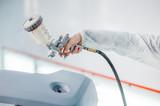 Repair and painting car car mechanic - 142598449