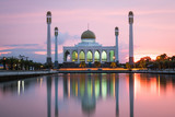 Mosque at south of Thailand like taj mahal