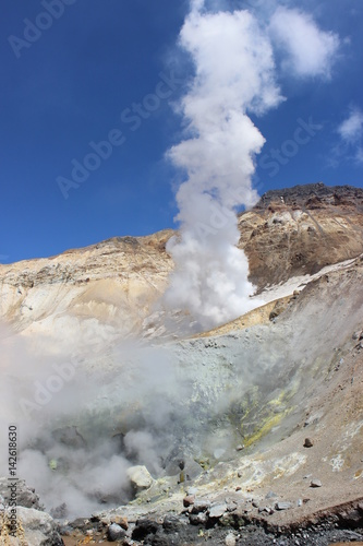 fumaroles a natural source Sources of ore-forming fluid in fumaroles of kudryavyi volcano, kuril islands: pb isotopic composition of gas condensates and sublimate minerals.