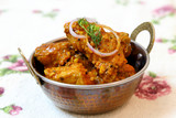 Spicy and tasty Fish curry dish. - 142624474