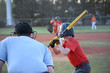Baseball game Left handed batter