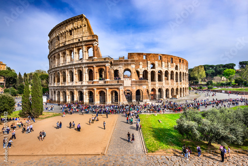 Tuinposter Rome Colosseum, Rome - Italy