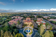 Aerial view of Stanford University Campus - Palo Alto, California, USA