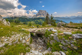 Footbridge Dolomites