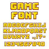 Pixel videogame font