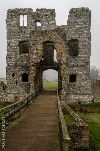 Baconsthorpe Castle, Norfolk, England Poster
