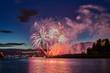 salute, beautiful fireworks