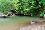 Tham Nam (Water Cave). Vang Vieng. Laos.