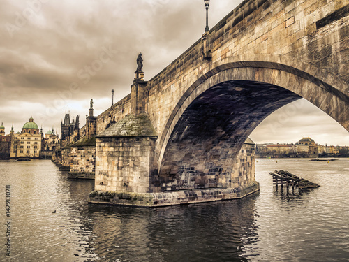 Poster Charles Bridge in Prague